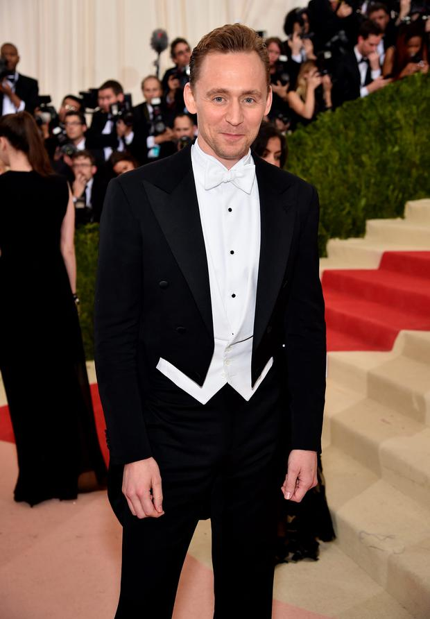 Tom Hiddleston attends the