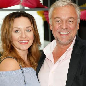 Ellen and Conrad Jones at the launch of the new Marks & Spencer Spirit of Summer food range held in the restaurant of their Grafton St store. Picture: Kieran Harnett