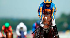 Order of St George ridden by Ryan Moore. Photo: PA