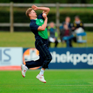 Barry McCarthy of Ireland during the One Day International match between Ireland and Sri Lanka. Photo: Sportsfile