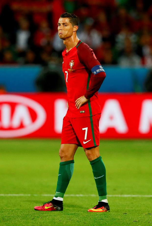 Portugal's Cristiano Ronaldo. Photo: Reuters