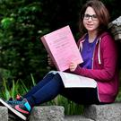 Jessica Nelkin, from Rathfarnham, who sat the Leaving Cert Business Higher Level paper at Stratford College in Rathgar. Photo: Steve Humphreys