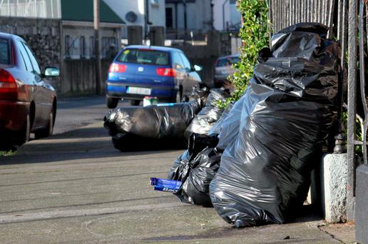 Dublin City Council spends more than half a million euro each year on cleaning up rubbish dumped illegally in the capital. Photo: RollingNews.ie