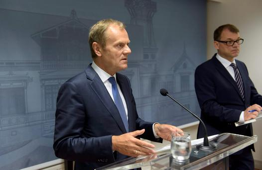 European Commission's president Donald Tusk. REUTERS