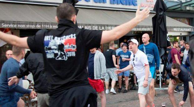 Sixth suspected Russian hooligan detained after scuffles in Cologne