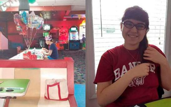 Hallee Sorenson's birthday card appeal went viral Credit: Facebook / Rebecca Lyn