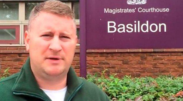 Leader of Britain First Paul Golding