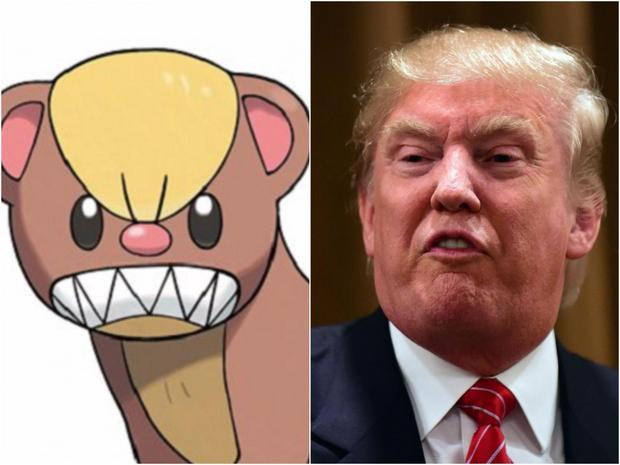 Trump v Pokemon Nintendo/Getty