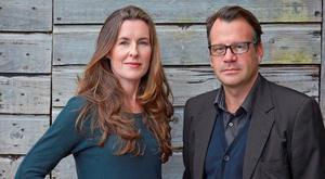 Take two: Karen Gillece and Paul Perry are writing a screenplay of their first novel The Boy That Never Was.
