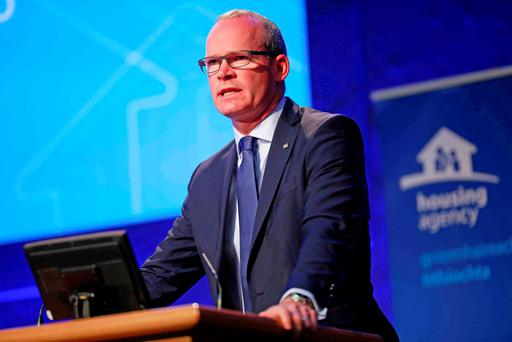 Housing Minister Simon Coveney Picture: Conor McCabe