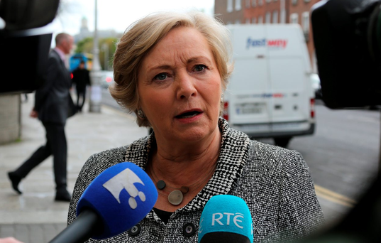 Tánaiste Frances Fitzgerald Photo: Tom Burke