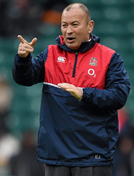 England head coach Eddie Jones. Photo: Stephen McCarthy/Sportsfile
