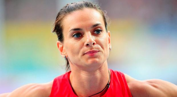 Yelena Isinbayeva, double Olympic and seven-time world pole vault champion, hit out at the decision and confirmed she would take legal action. Photo: PA