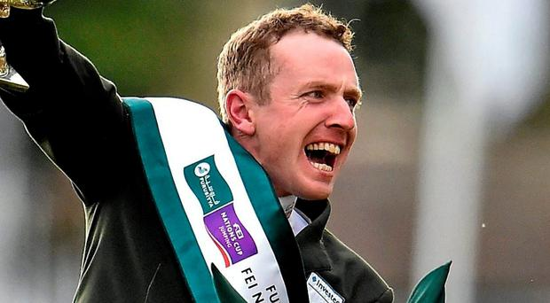 Greg Broderick: HSI said it has total faith in him and his horse. SPORTSFILE