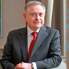 Brendan Howlin seems more at ease in himself without the tattoo of austerity on his forehead Photo: Frank Mc Grath