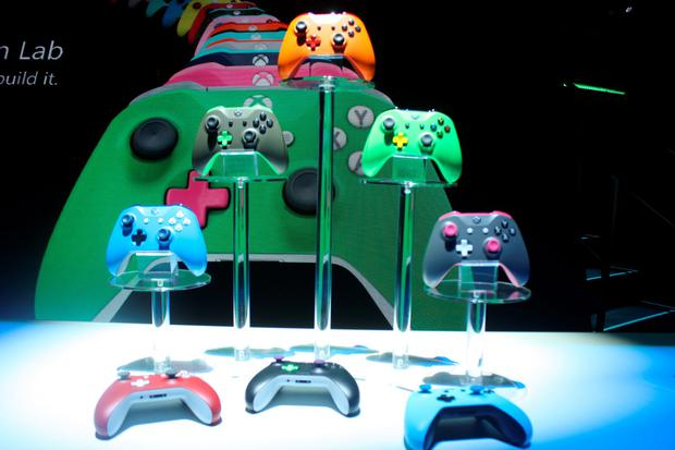 Microsoft announced plans to allow you to customise your Xbox controller, costing approximately €90