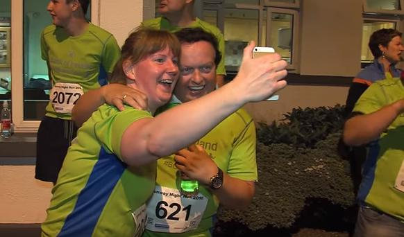 Marty Morrissey completes his first 5KM
