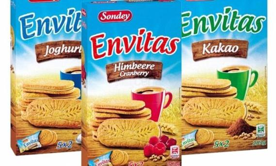 The worst for packing sugar were from German discounter Lidl with its Sondey Envitas Breakfast Biscuits Chocolate & Hazelnut Flavour and Sondey Envitas Breakfast Biscuit Chocolate top with around four teaspoons of sugar in each biscuit.
