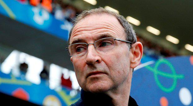 Republic of Ireland head coach Martin O'Neill