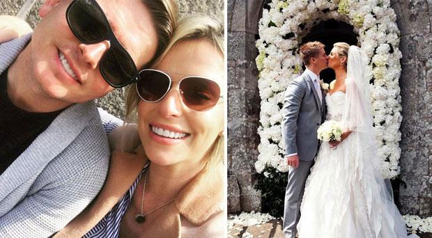 Pippa and Brian celebrate their fifth anniversary this weekend
