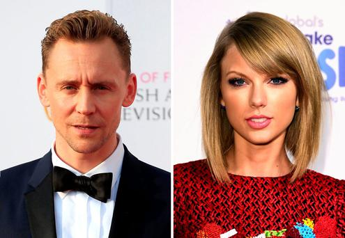 All the world's a stage: Tom Hiddleston and Taylor Swift's romance has everyone talking. Photo: PA