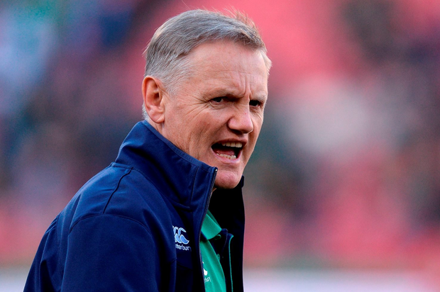 18 June 2016; Ireland head coach Joe Schmidt before the Castle Lager Incoming Series 2nd Test game between South Africa and Ireland at the Emirates Airline Park in Johannesburg, South Africa. Photo by Brendan Moran/Sportsfile