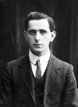 Talk: Sean Mac Diarmada, Kiltyclogher's most famous son and granduncle of my new friends