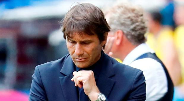 Italy head coach Antonio Conte. Photo: Michael Dalder/Reuters