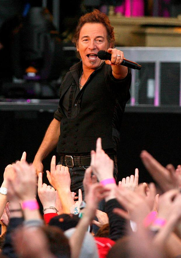 Bruce Springsteen. Photo: PA