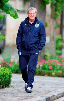 England manager Roy Hodgson. Photo: Owen Humphreys/PA