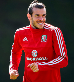 Wales' Gareth Bale. Photo: Joe Giddens/PA