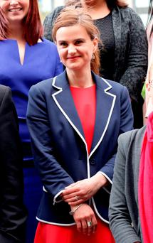 Labour MP Jo Cox. Photo: PA