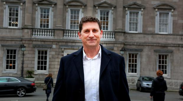 Remembering Orlando: After attending a vigil for the Pulse nightclub victims, Green Party leader Eamon Ryan talked about love during the order of business in the Dail last week. Photo: Tom Burke