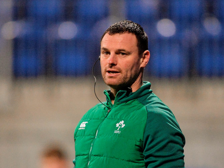 Ireland head coach Nigel Carolan: