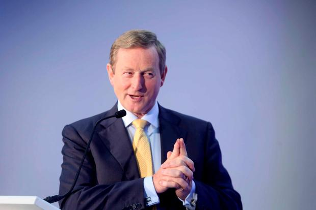 Who's next? Taoiseach Enda Kenny has refused to give details of his exit strategy. Photo: Sam Boal/Rollingnews.ie