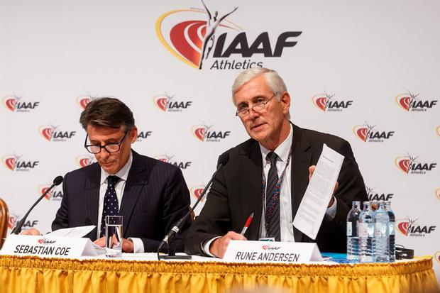 On Friday, the Russians got their just reward when the IAAF voted to uphold the ban, thus appearing to rule the second most powerful athletics nation in the world out of the Games. Photo: Getty