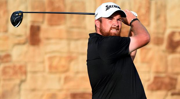 Shane Lowry hits his tee shot on the 9th hole during the third round of the U.S. Open golf tournament at Oakmont. Credit: Kyle Terada-USA TODAY Sports