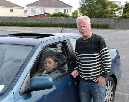 Patrick and Pauline Murphy have been living in their car since April 2016 (Photo: Sunday World)