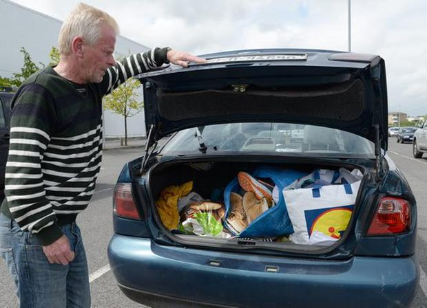 Patrick Murphy has been living in his car since April 2016 (Photo: Sunday World)