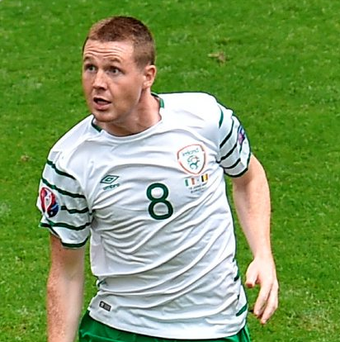 James McCarthy during the Belgium and Republic of Ireland match. Photo: Sportsfile.