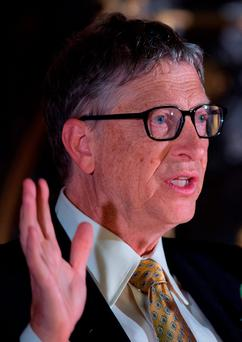 Bill Gates: Microsoft's founder Photo: Tim Ireland/PA Wire