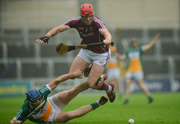 Conor Whelan in action against Chris McDonald Photo by Cody Glenn/Sportsfile