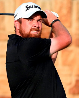 Shane Lowry hits his tee shot on the 9th hole during the third round of the U.S. Open. Photo: USA Today Sports