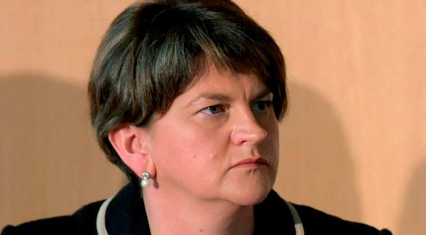 DUP leader Arlene Foster. Photo: Jane Barlow/PA Wire