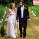 Bo Bruce wed Henry Binns as featured in Hello! magazine