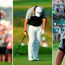 Shane Lowry went from leading by four strokes to being beaten by three at Oakmont