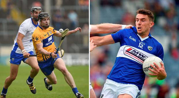 Clare and Laois to meet in both football and hurling