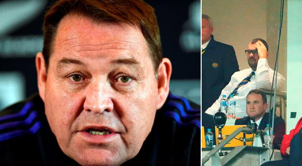 Steve Hansen has accused Michael Cheika of allowing himself to be bullied