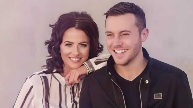 Lisa McHugh and Nathan Carter in their You Can't Make Old Friends video