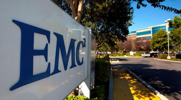 Dell's chief executive officer and founder Michael Dell agreed in October to buy EMC Corp for $67bn. Photo: Reuters